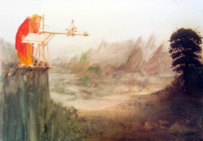 Steadman - Leonardo Thumb Perspective